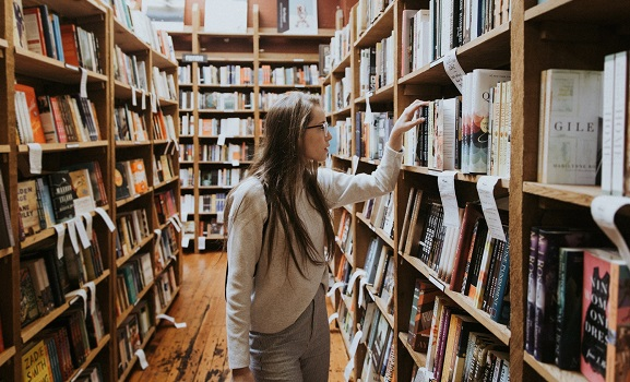 save money with library